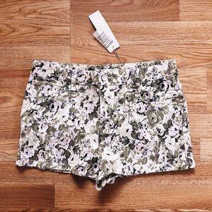MINKPINK Floral Denim Shorts